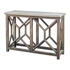 Quatrefoil Console Table Quatrefoil Console Table Stone Top Console Table Wayfair