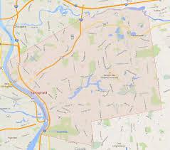 Map Of Massachusetts Cities Towns by Springfield Massachusetts Map