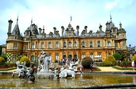 waddesdon manor waddesdon built for pleasure and filled with treasure