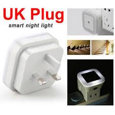 automatic led night light led night light uk plug in automatic energy saving light dark wall