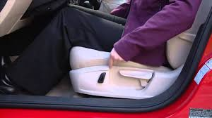 volkswagen jetta seat adjustment control how to instructions youtube