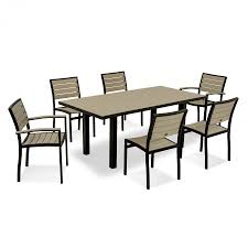 polywood euro 7 piece dining set polywood outdoor furniture