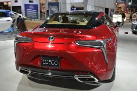 lexus lc 500 black price lexus lc 500 looks drop dead gorgeous in chicago