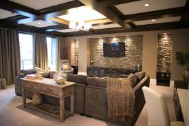 sectional den decorating ideas contemporary home cozy den design