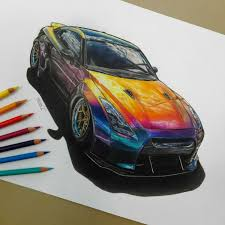 nissan gtr wrapped wrapped gtr that cartist grl draw to drive