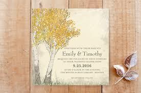 Tree Wedding Invitations 19 Nature Inspired Tree Wedding Invitations Indie Wedding Guide