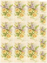 Shabby Chic Purple by Shabby Chic Yellow And Purple Flowers Shabbybeautiful