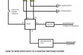 wiring diagram for 4 spotlights wiring diagram