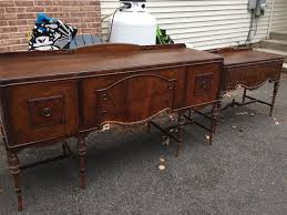 Dining Room Buffets And Sideboards by Berkey U0026 Antique Mahogany Detailed Buffet U0026 Server Very Good