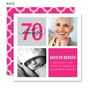70th birthday invitations birthday party invitations