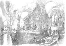 beautiful middle earth concept art for the hobbit u2014 geektyrant