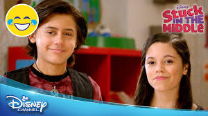 stuck in the middle room wars official disney channel uk youtube