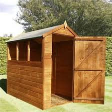 Shiplap Sheds 6 X 4 Large Shed Workshop Combo Sheds Pinterest Backyard Cabin