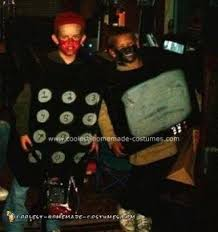 Tv Halloween Costumes Coolest Homemade Tv Remote Costumes