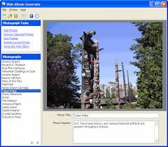 web album generator free photo gallery software