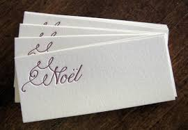 beyond your wedding invitation christmas table place cards on