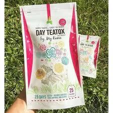 Teh Kotak Ecer day teatox by my kana teh kotak yang cocok untuk diet aman di