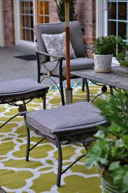 Patio Furniture Ikea by Decorating Simple Patio Rug Design With Cozy Gray Outdoor Rugs Ikea