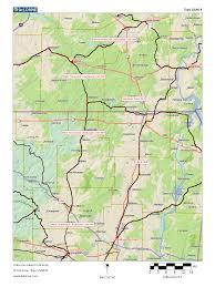 West Tennessee Map by Alabama Arkansas Louisiana Mississippi Oklahoma Texas