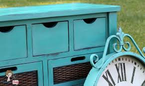custom caribbean blue chalk paint buffet atta says