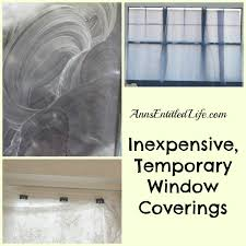 Privacy Cover For Windows Ideas Inexpensive Temporary Window Coverings