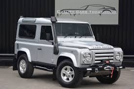 new land rover defender used land rover defender 90 xs just 590 miles from new special