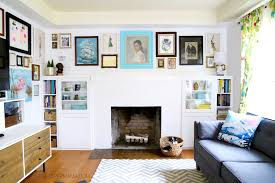 ikea hack diy fireplace built ins the paper mama
