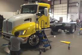 truck wreckers kenworth in the shop at wasatch truck equipment
