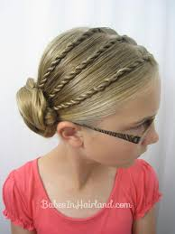 hairstyles for back to school short hair triple twists and a bun back to school hair from babesinhairland