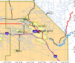 idaho zone map boise idaho map area map