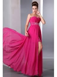 fancy pink high low hem prom dresses under 200 1st dress com