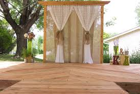 wedding backdrop burlap wedding decor cina design llc