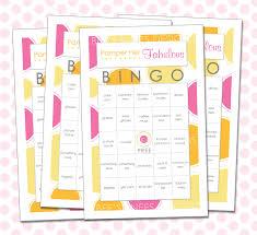photo baby shower bingo board popular image