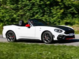 fiat 124 spider abarth 2017 pictures information u0026 specs