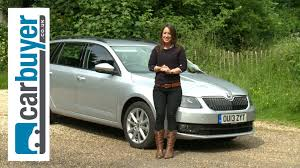 skoda octavia estate 2013 review carbuyer youtube