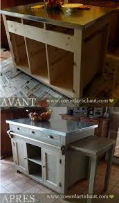 Construire Ilot Cuisine by Fabriquer Un Ilot De Cuisine Large Lot De Rangement Pour
