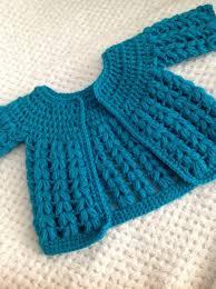Easy Baby Sweater Crochet Pattern Crochet And Knit