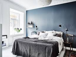 Scandi Bedroom by Dreamy Scandi Apartment With A Stunning Deep Blue Bedroom Daily