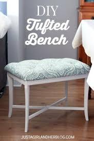 best 25 tufted bench ideas on pinterest diy fabric headboard