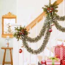 How To Decorate A Banister Decorate The Stairs For Christmas U2013 30 Beautiful Ideas