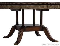 Home Furniture Tables Round Mahogany Svenska Mobler Dining Table For Sale At 1stdibs