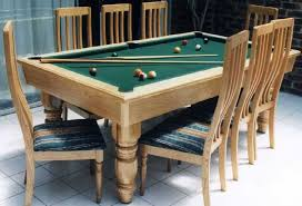Pool Table Top For Dining Table Amazing Pool Table Dining Table Combo Decor Trends