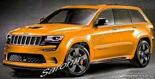 orange jeep 2016 jeep grand cherokee suv sav crossover front bumper 2014 2016