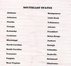 Northeast Region Blank Map by Seneca Ccsd 170 4th Grade Web Page