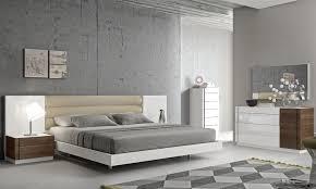 Designer Bedroom Set Fashionable Leather Modern Design Bed Set With Panels Detroit