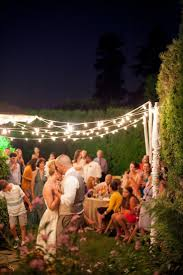 Backyard Wedding Lighting by 27 Best Backyard Parties Images On Pinterest Backyard Parties