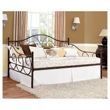 victoria full size daybed bronze dorel home products target