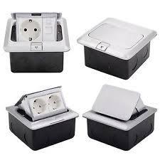 einbausteckdose küche steckdosen mit versenkbarem tischsteckdose ebay
