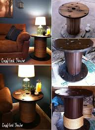 Wire Spool Table Whattodowithold What To Do With Old Wire Spools
