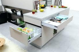 meuble avec plan de travail cuisine plan de travail avec rangement